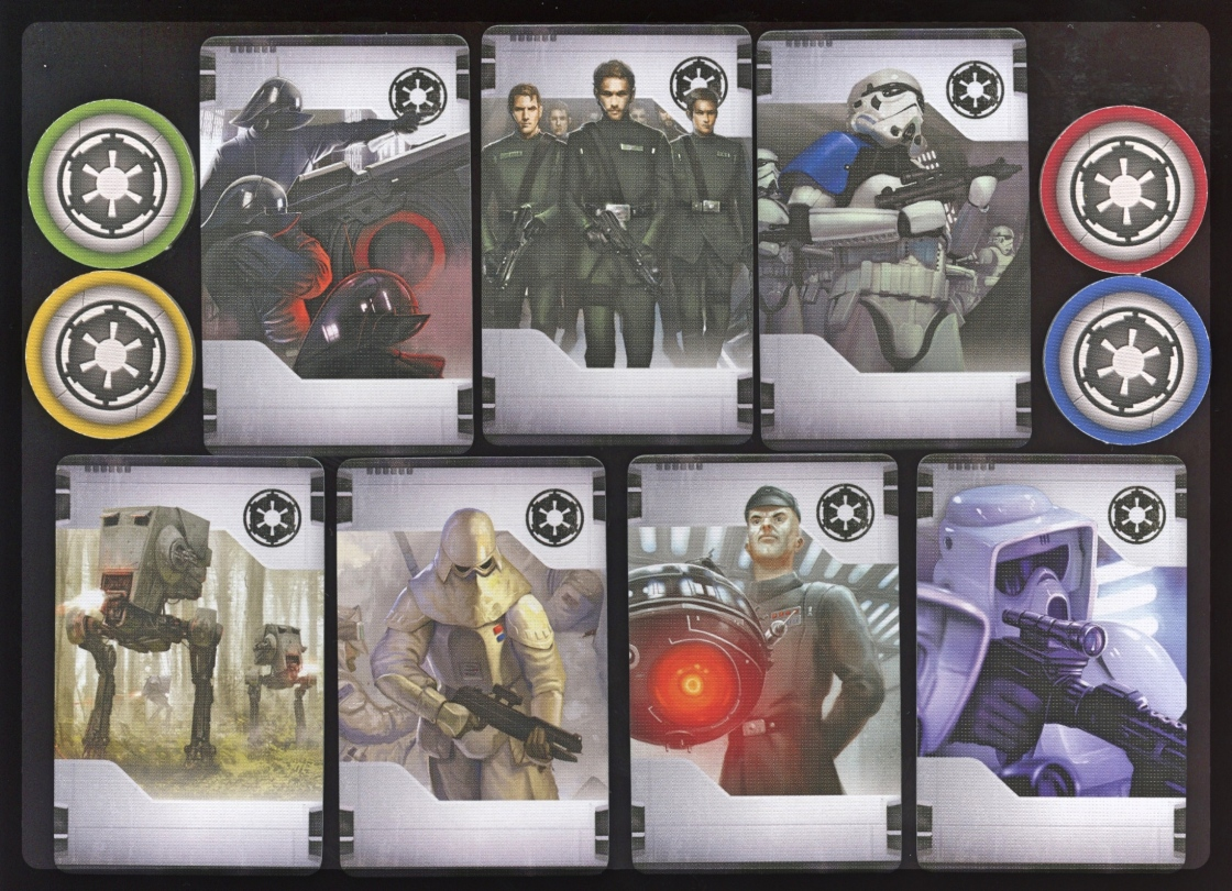 Imperial Assault Imperial Class Deck Starter Cards