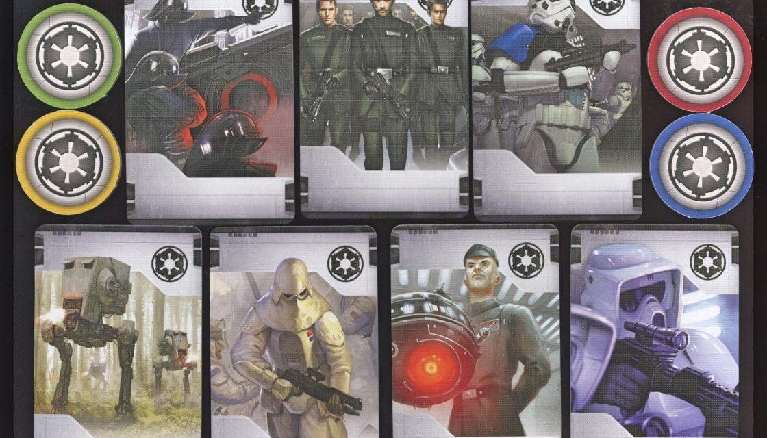 Imperial Assault Imperial Class Deck Starter Cards