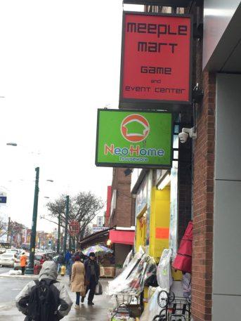 Meeplemart, in Toronto's Chinatown