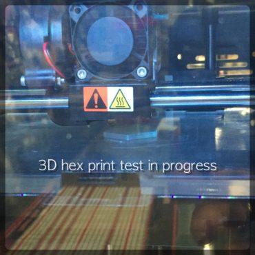 3D Hex Print
