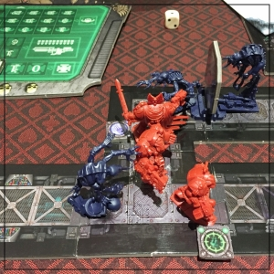 Space Hulk Mission 1 Mid Game