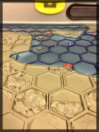 WWII Africa Campaign Hex Wargames Map