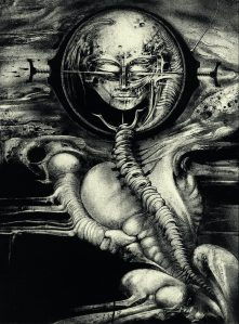 Giger Aliens Cthulhu III