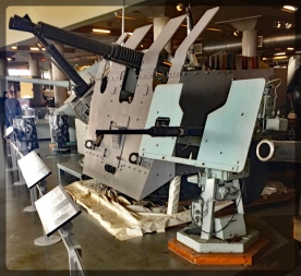 Canadian War Museum Antiaircraft Guns