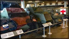 Canadian War Museum Armoured Cars