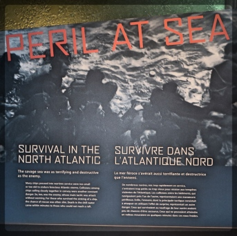 Canadian War Museum Survival in the Atlantic