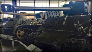 Canadian War Museum Sherman Panther
