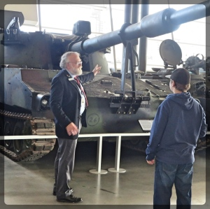 Canadian War Museum Veteran Tour