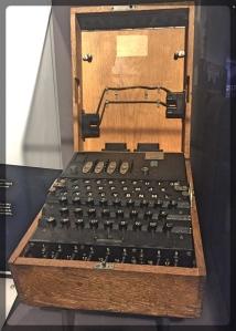 Canadian War Museum Enigma Machine