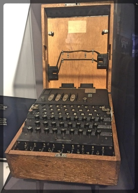 Canadian War Museum Enigma Machine