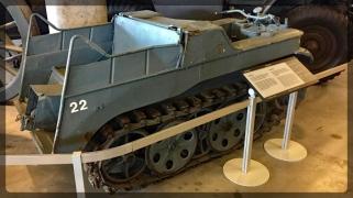 Canadian War Museum Kettenkrad