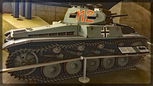 Canadian War Museum Panzer 2C from Africa
