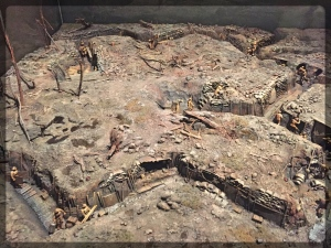 Canadian War Museum WWI Trench Diorama
