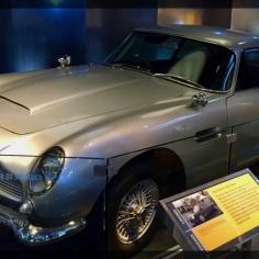 Spy Museum James Bond Austin Martin