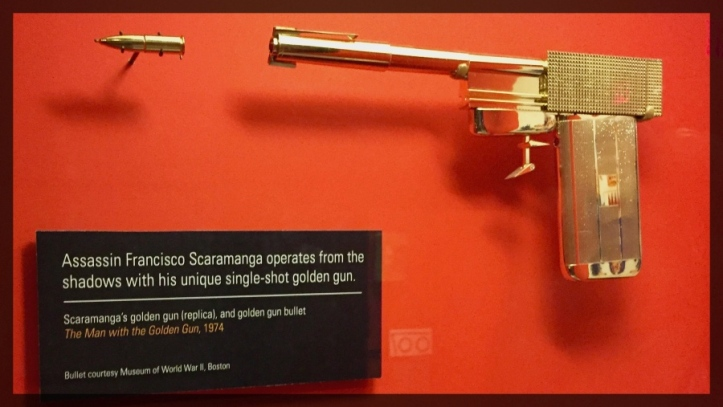 Spy Museum James Bond Villain Golden Gun