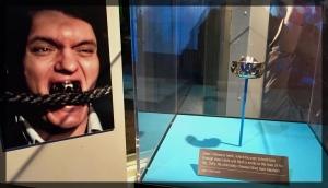 Spy Museum James Bond Villain Moonraker Jaws Teeth