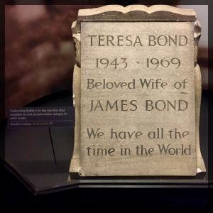 Spy Museum James Bond Villain On Her Majestys Secret Service