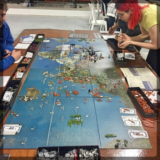 BIG Axis & Allies Game
