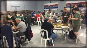 Open board game area, open all con long