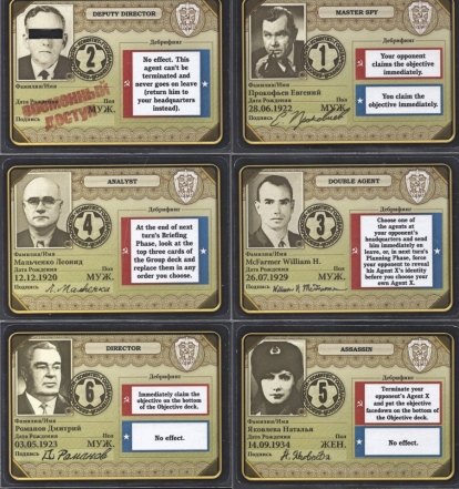 Cold War Game Russian Agents