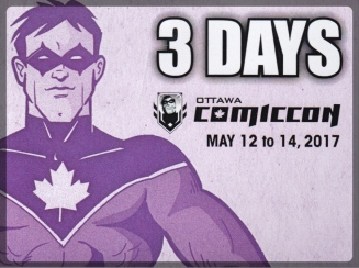 Ottawa Comiccon Cosplay 3 Day Pass