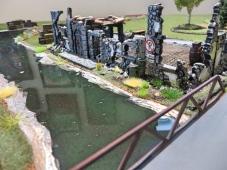 Envirotex Wargames River WWII Terrain Bridge