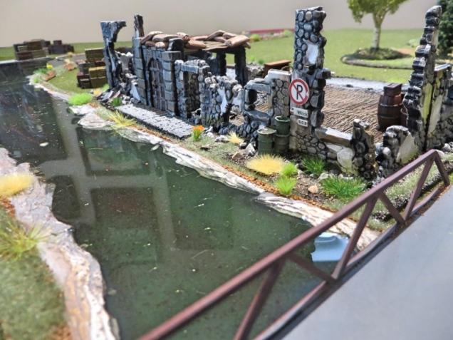 Envirotex Lite Build Terrain Wargame River Warlord Runined Hamlet
