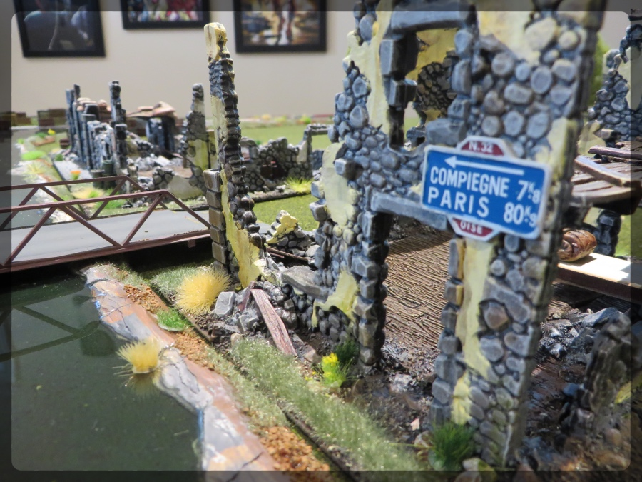 Envirotex Lite Build Terrain Wargame River Warlord House
