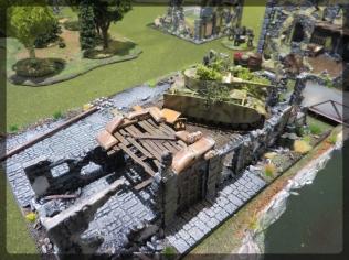 Envirotex Lite Build Terrain Wargame River Panzer IV