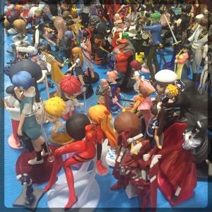 Ottawa Comiccon Anime Figures Statue Mini