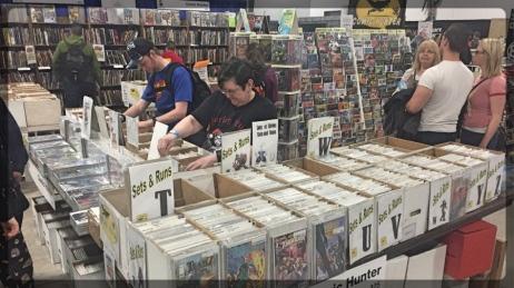 Ottawa Comiccon Comic Book Vendor