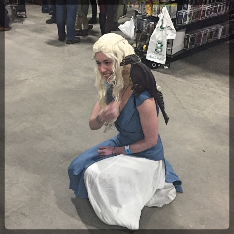 Ottawa Comiccon Daenyrs Game Thrones Dragon Cosplay