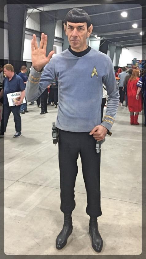 Ottawa Comiccon Cosplay Spock Star Trek