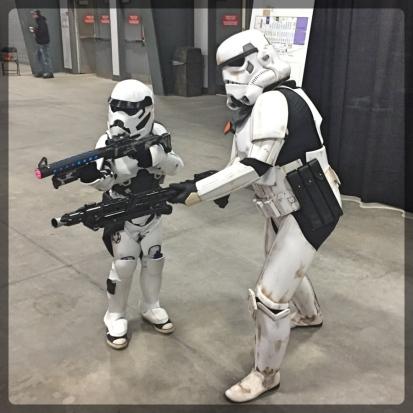 Ottawa Comiccon Costumes Ottawa Comiccon 501st Legion Star Wars Cosplay Heavy Stormtrooper