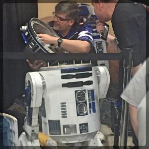 Ottawa Comiccon Ottawa Comiccon 501st Legion Star Wars R2D2 Mechanic