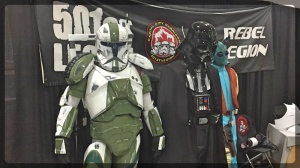 Ottawa Comiccon 501st Legion Star Wars Cosplay Darth Vader