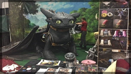 Ottawa Comiccon How to Train Your Dragon