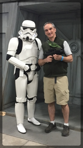Ottawa Comiccon Cosplay Sean Star Wars Stormtrooper