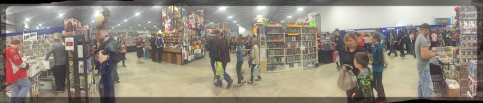 Ottawa ComicCon Shopping Pano