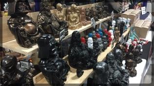Ottawa Comiccon Darth Buddah Statue