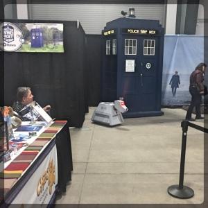 Ottawa Comiccon Doctor Who K9 Tardis