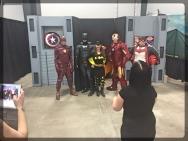 Ottawa Comiccon Marvel Avengers Charity Photo Op