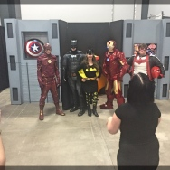 Ottawa Comiccon Marvel Avengers Charity Photo Op