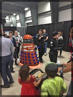 Ottawa Comiccon Cosplay Doctor Who Dalek