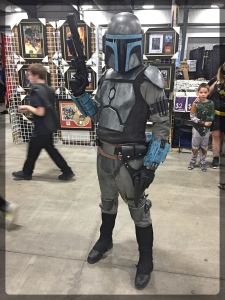 Ottawa Comiccon Cosplay Star Wars Bounty Hunter