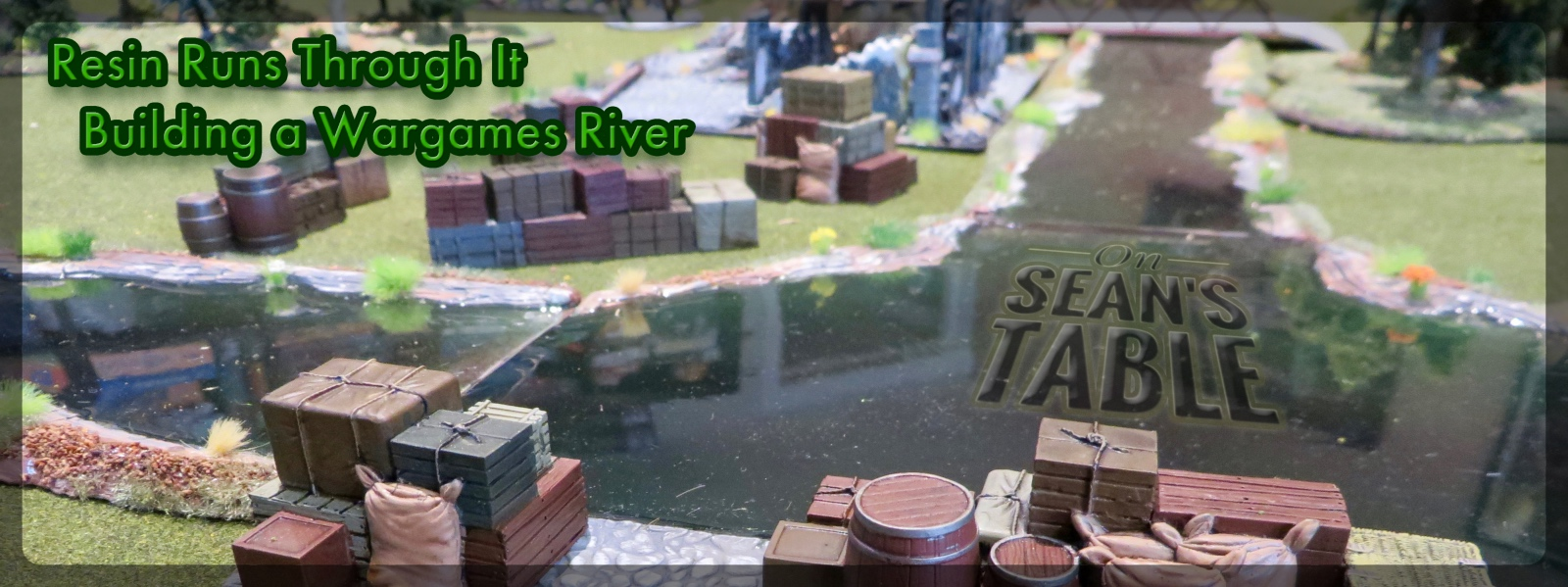 Envirotex Lite Build Terrain Wargame River