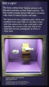 Spy Museum Washington Spy Cigarette Case Camera