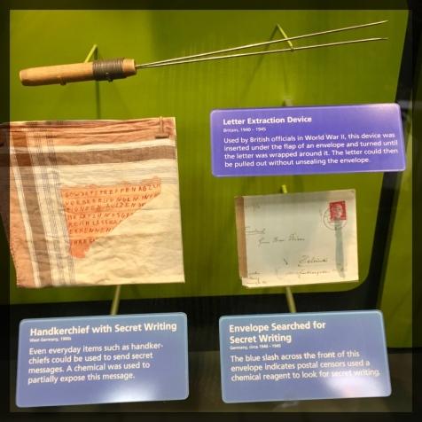 Spy Museum Washington WWII Snooping Tools