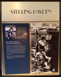 Spy Museum Washington WWII Sterling Hayden