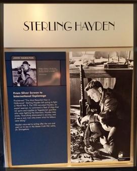 Spy Museum Washington WWII Sterling Hayden